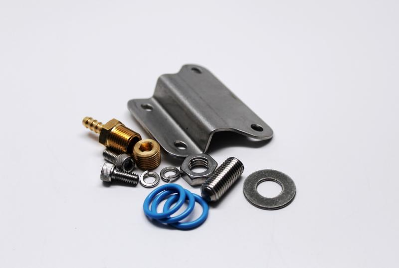 Fuelab 14503 Bracket/Hardware Kit for 535xx and 545xx Regulators
