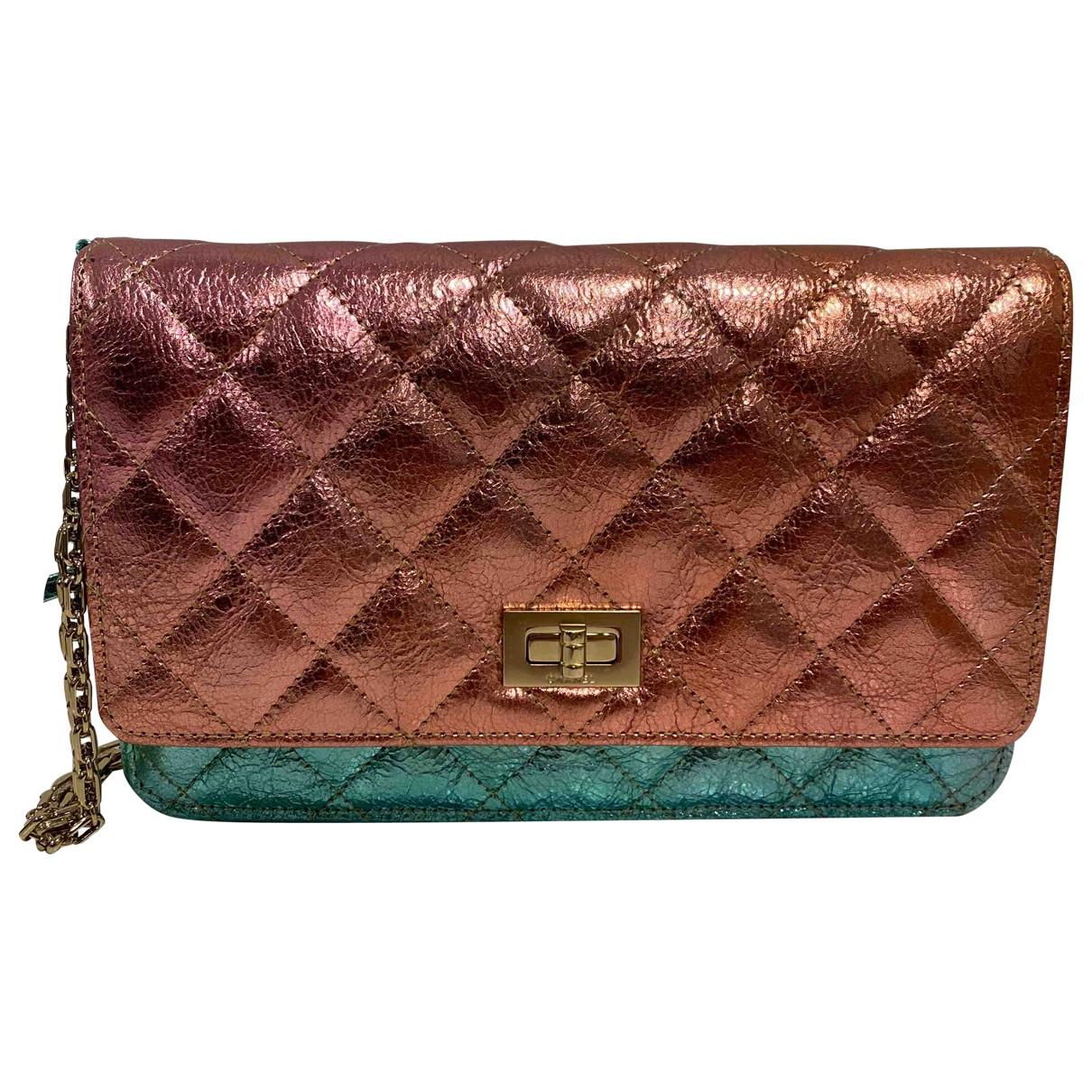 Chanel Wallet on Chain Handtasche in  Bunt Leder