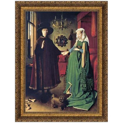 DA1804 35X46.5 The Arnolfini Marriage