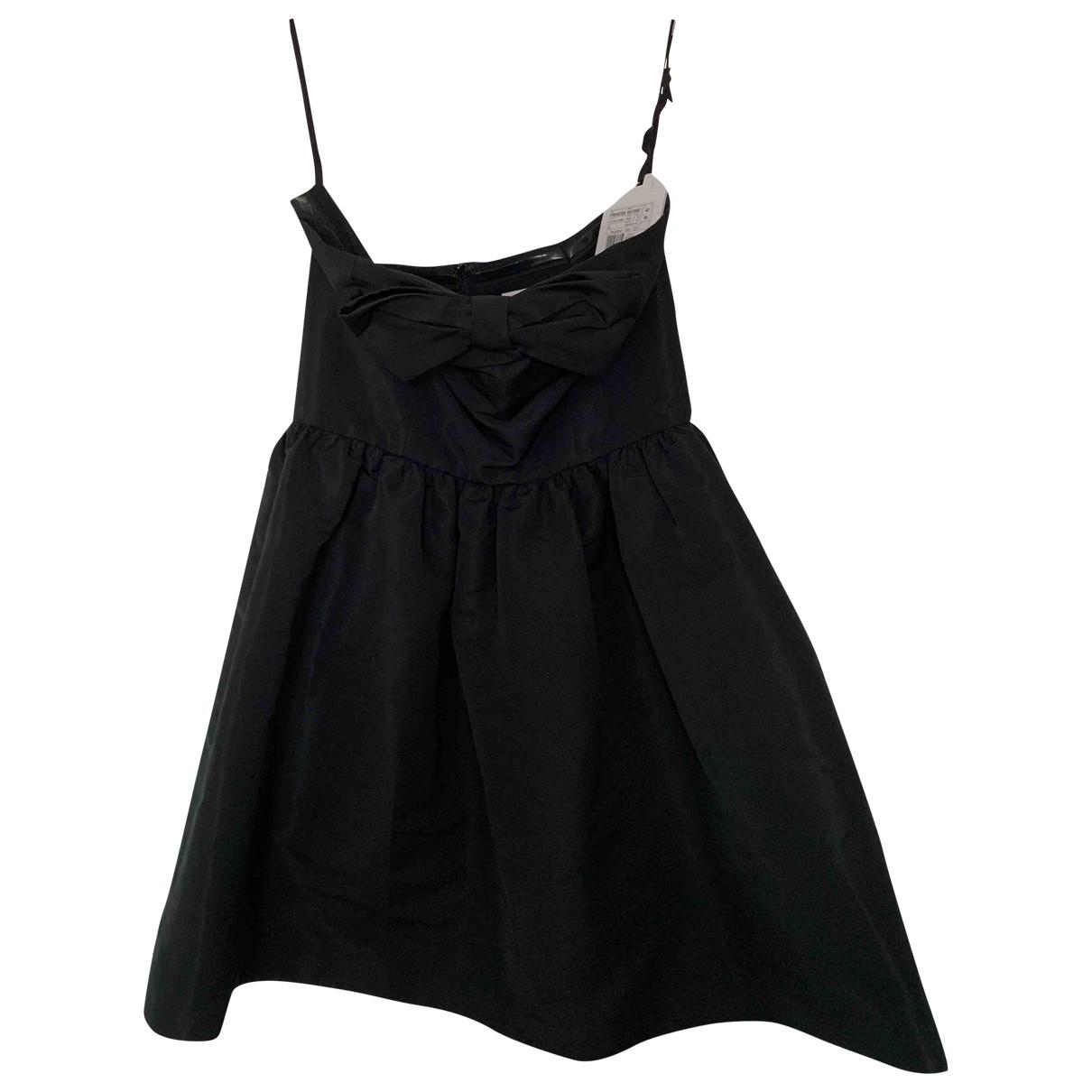 Red Valentino Garavani \N Black dress for Women 42 IT