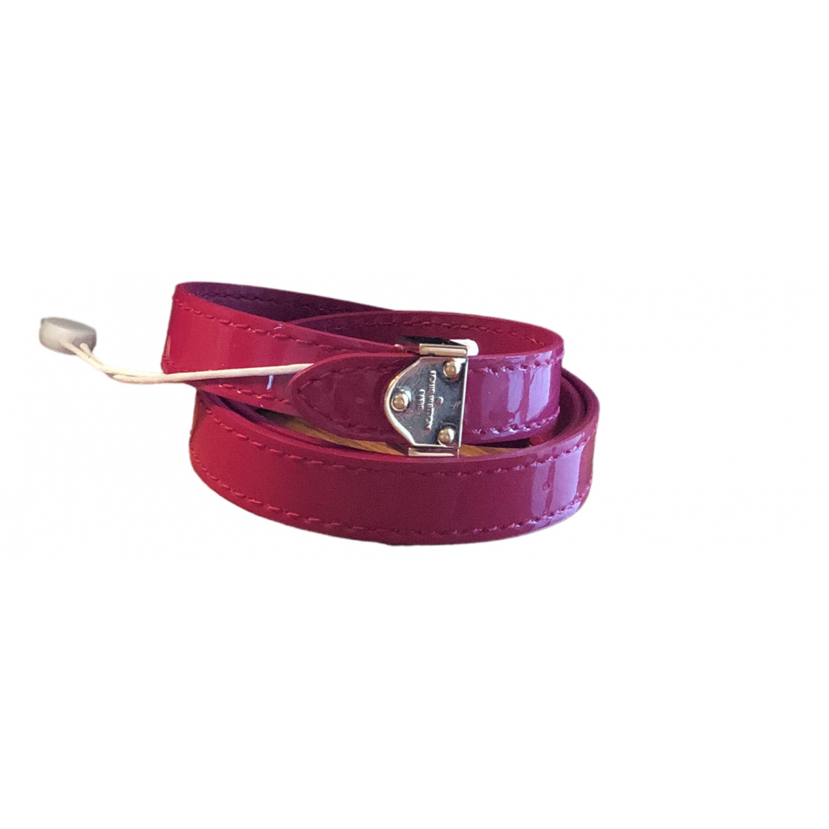 Louis Vuitton N Patent leather bracelet for Women N