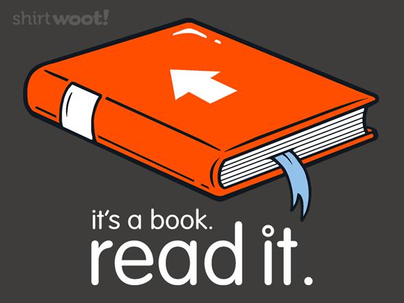It's A Book T Shirt