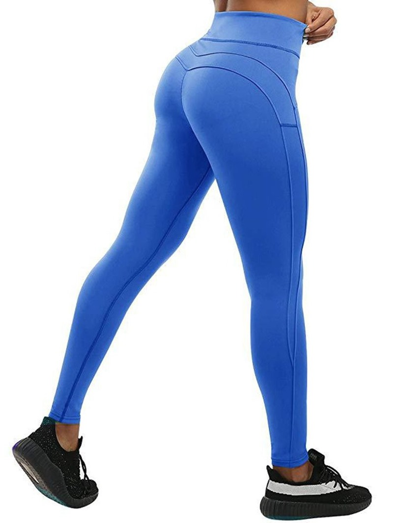 Ericdress Polyester Breathable Solid Ankle Length Leggings