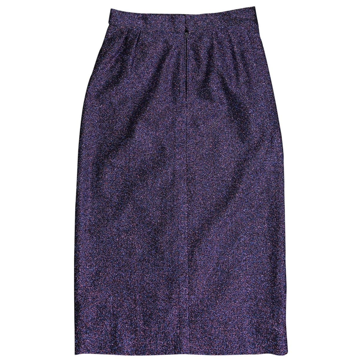 Non Signe / Unsigned \N Rocke in  Lila Polyester