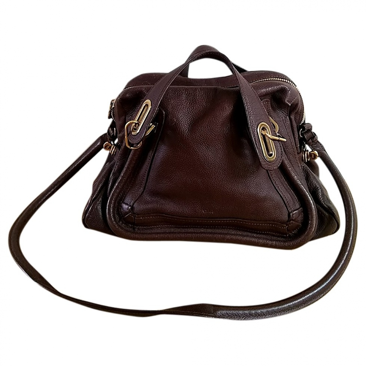 Chloé Paraty Brown Leather handbag for Women \N