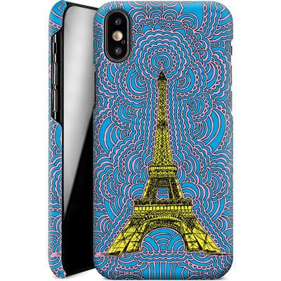 Apple iPhone XS Smartphone Huelle - Eiffel Tower von Kaitlyn Parker