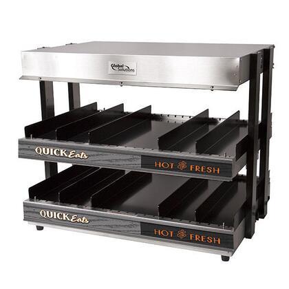 GS1300-24 21 2 Shelf Heated Merchandiser - 120V  1500W  in
