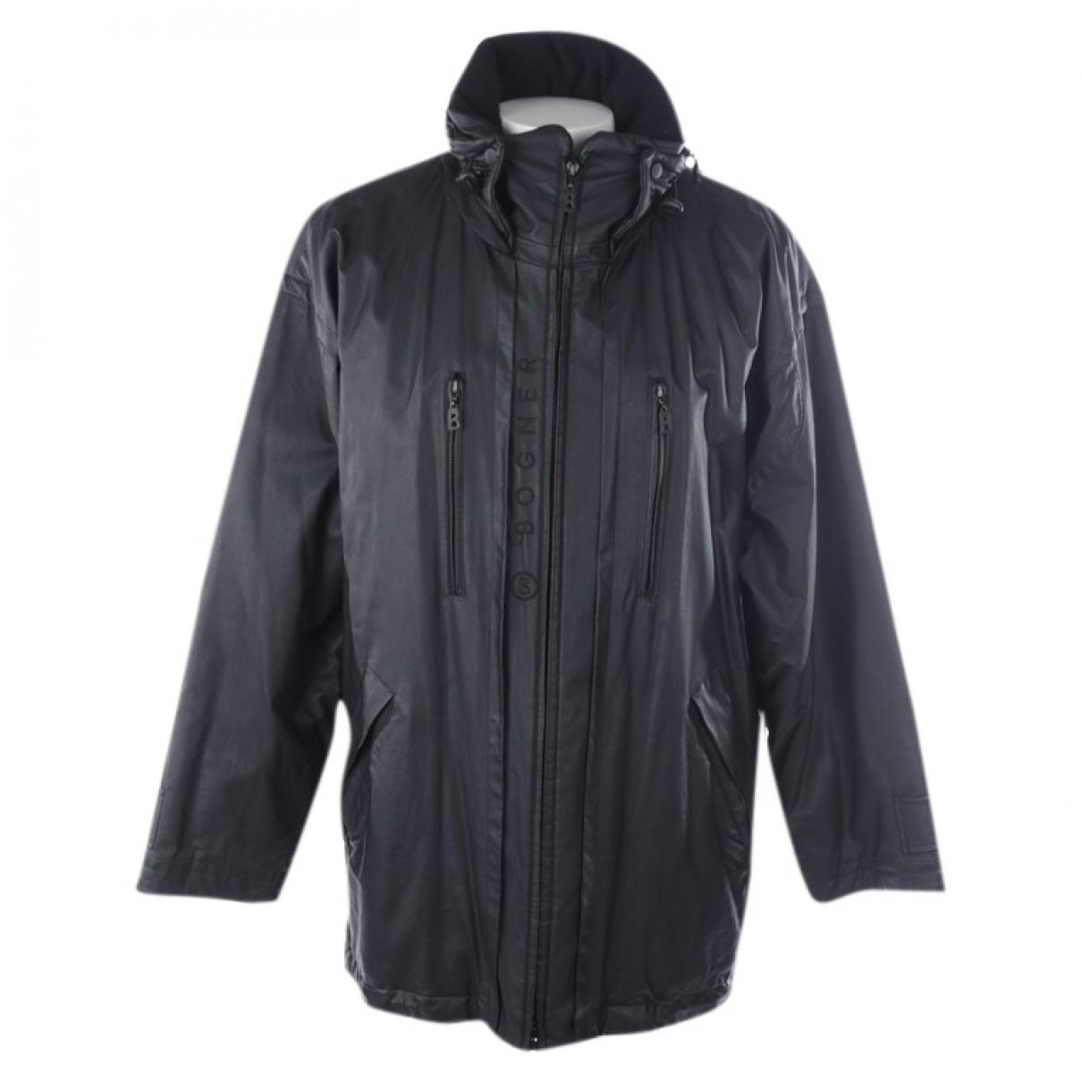 Bogner \N Black Cotton jacket for Women 40 FR