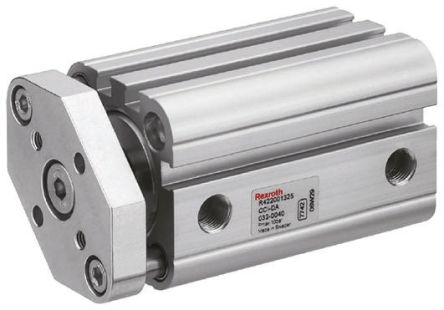 Aventics Pneumatic Compact Cylinder 32mm Bore, 100mm Stroke, CCI Series, Double Acting