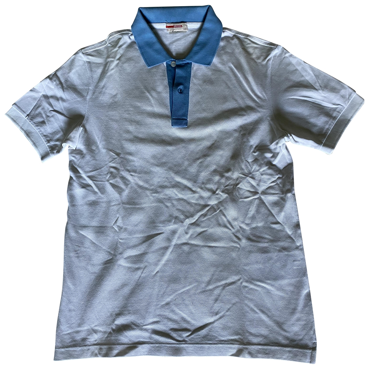 Prada \N Poloshirts in  Weiss Baumwolle