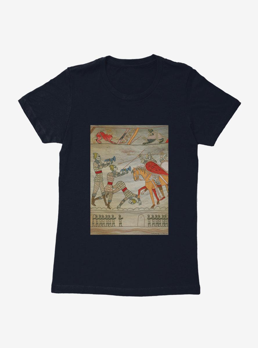 Doctor Who Battle Womens T-Shirt