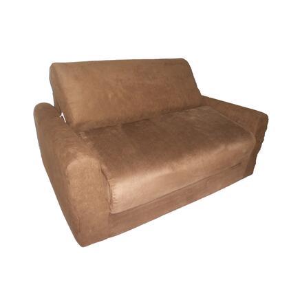 11247 Sofa Sleeper With Pillows Brown Micro