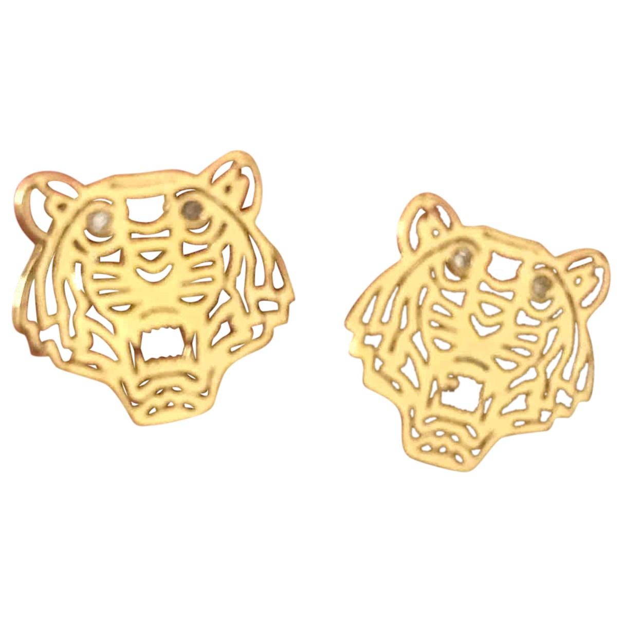 Kenzo Tigre OhrRing in  Gold Vergoldet