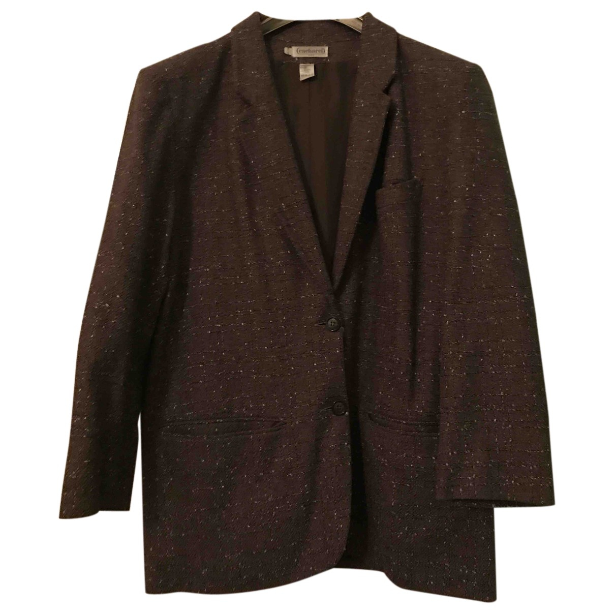 Cacharel N Brown Wool jacket for Women 42 FR