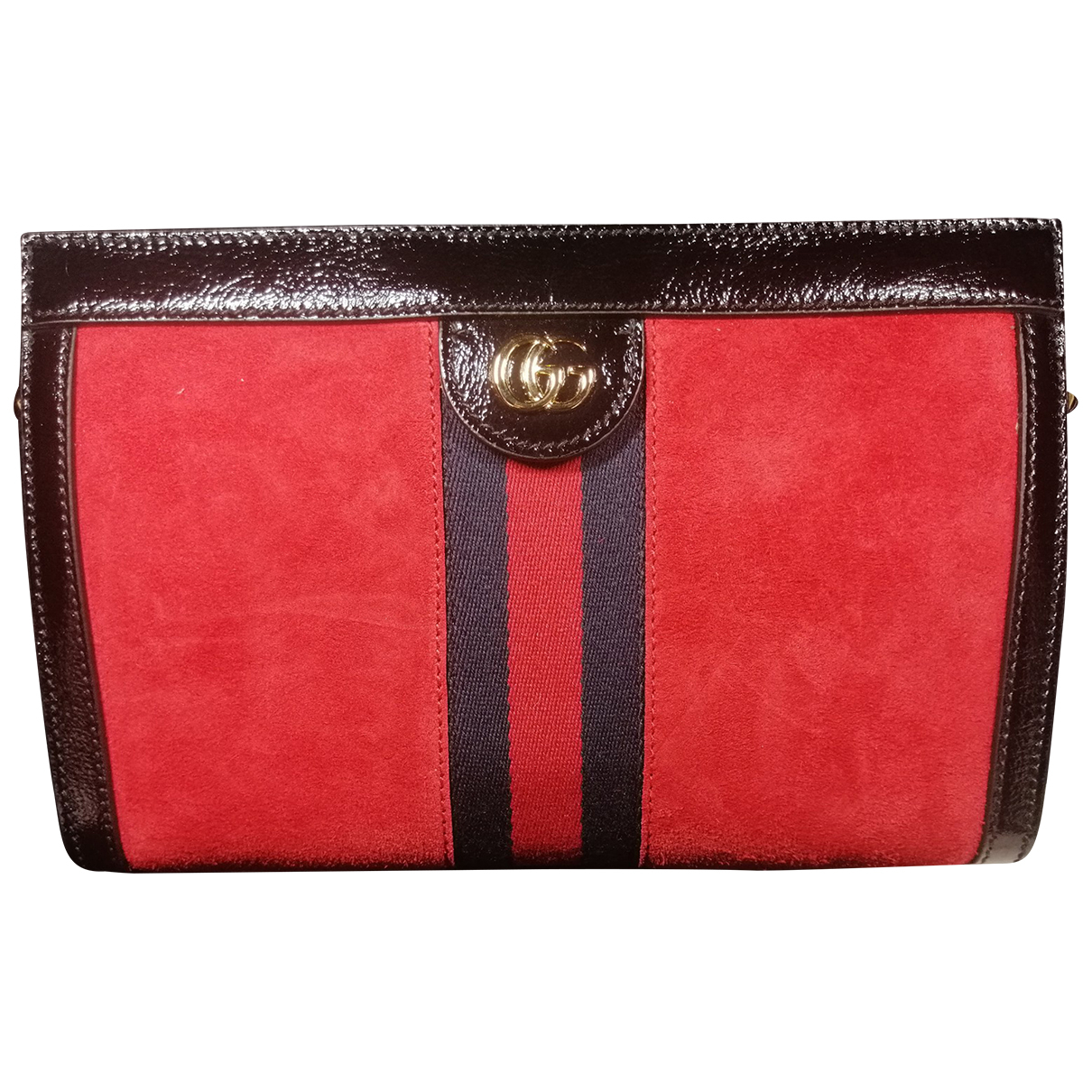Gucci Ophidia Red Suede handbag for Women N