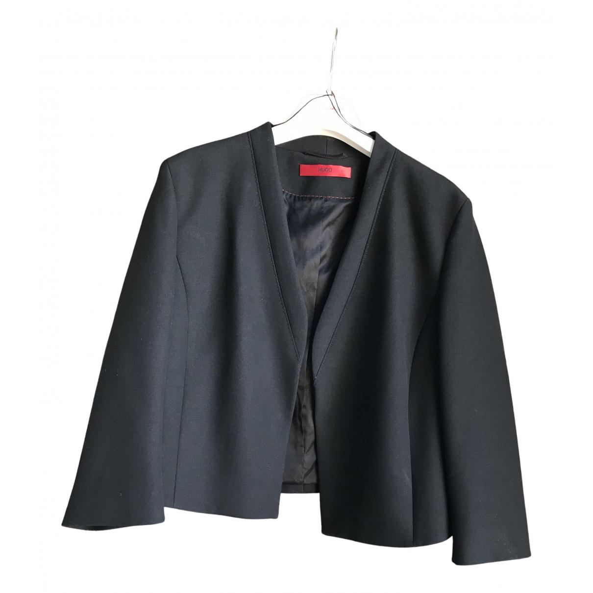 Hugo Boss \N Black jacket for Women 44 FR