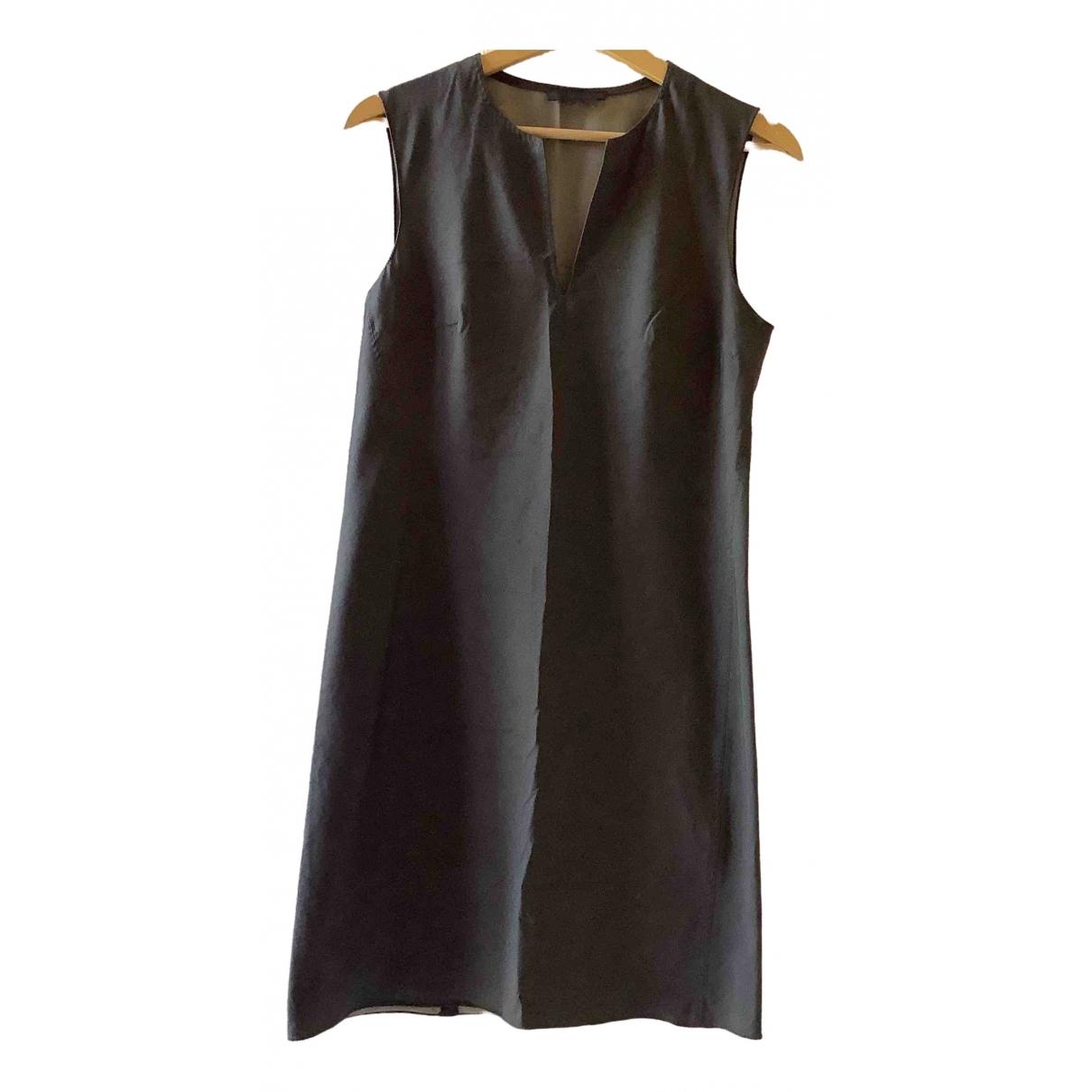 Prada \N Kleid in  Grau Baumwolle - Elasthan