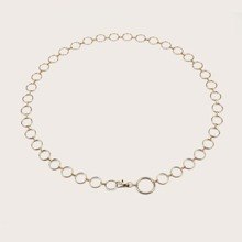 Metal Hoop Waist Chain Belt
