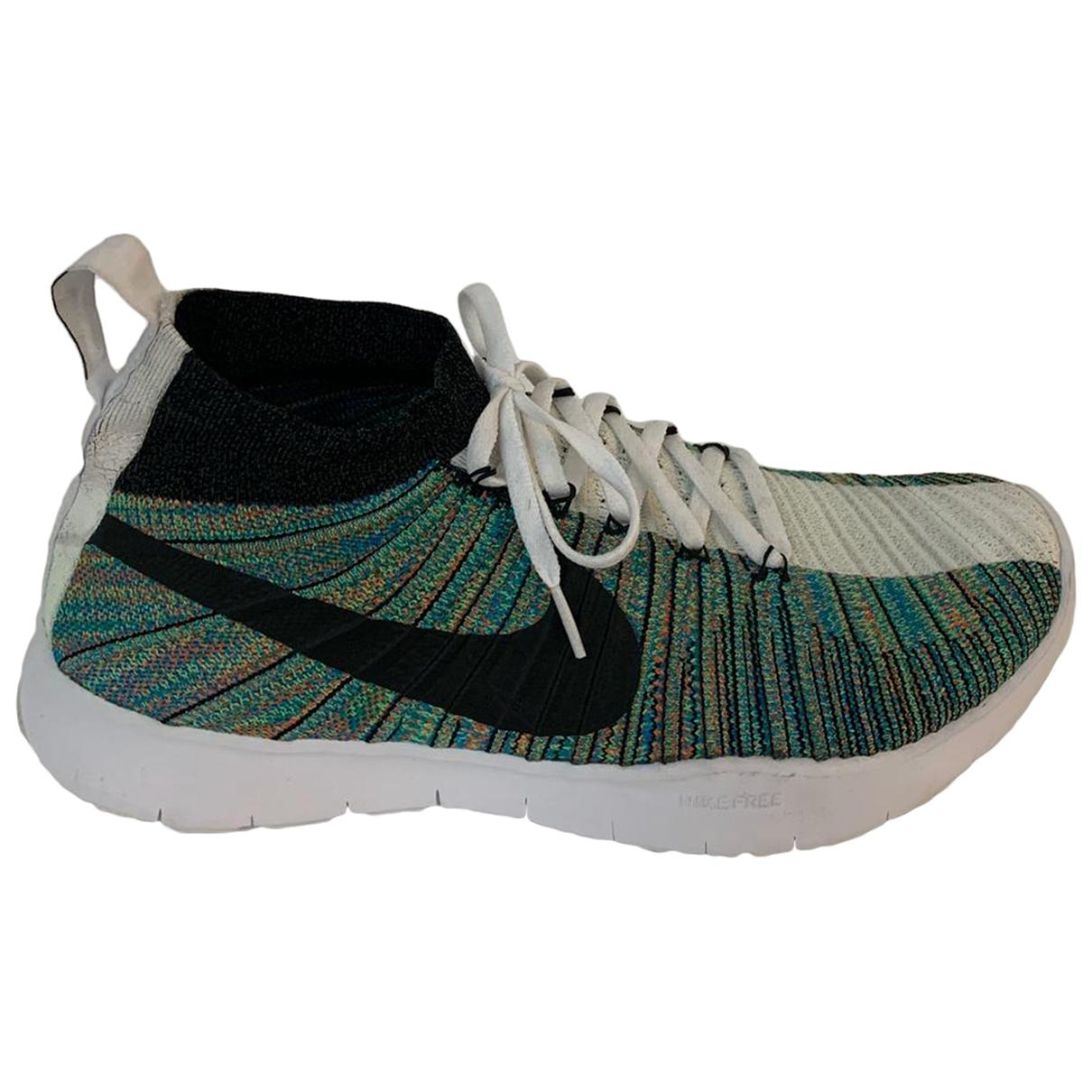 Nike By Riccardo Tisci - Baskets   pour homme en toile - multicolore