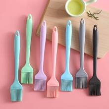 1pc Random Color Silicone Oil Brush