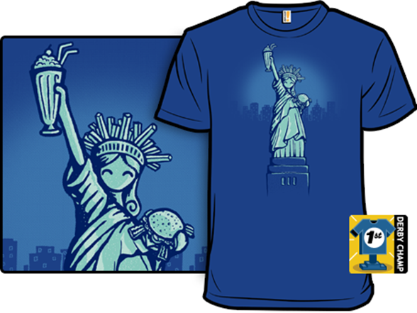 Land Of The Fries T Shirt