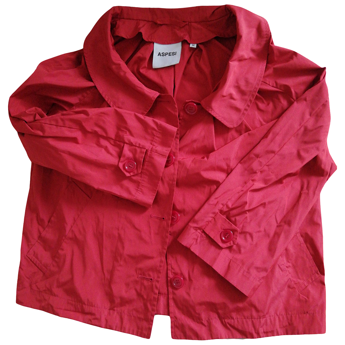 Aspesi - Veste   pour femme - rouge