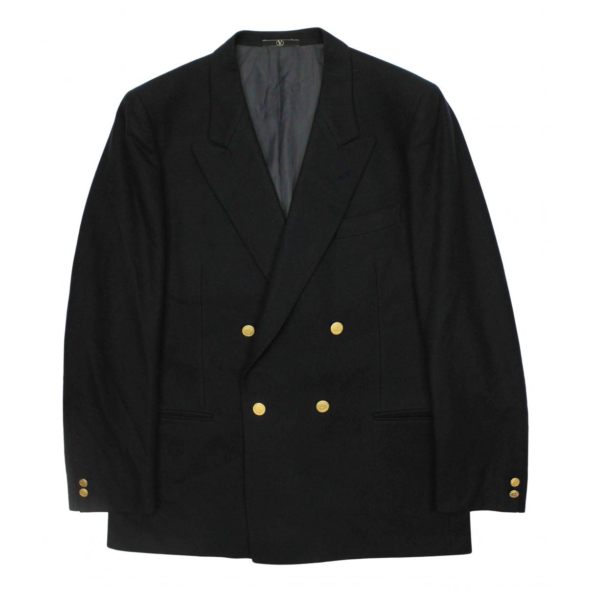 Valentino Garavani N Blue Wool jacket  for Men 52 IT