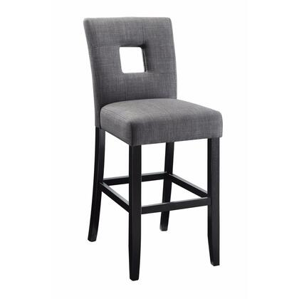 BM163728 Wooden Dining Counter Height Chair  Beige & Black  Set of