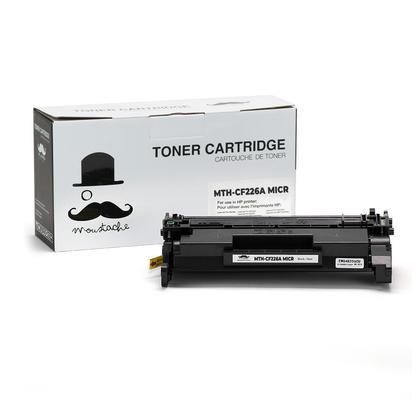 Compatible HP 26A CF226A MICR Black Toner Cartridge - Moustache®