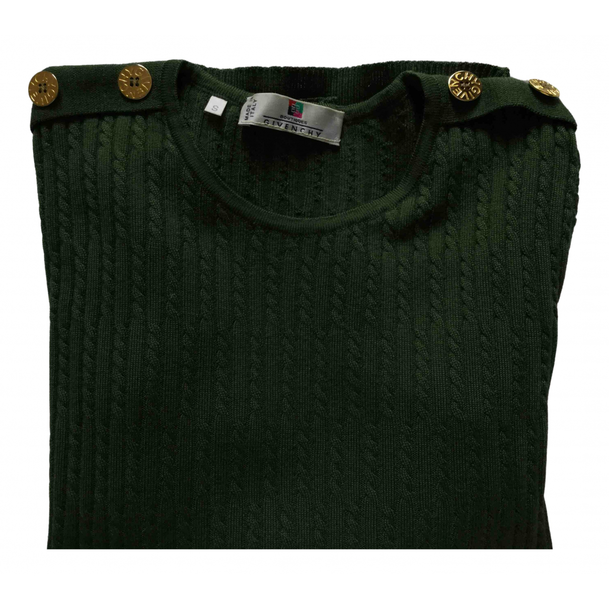 Givenchy \N Green Wool Knitwear for Women 36 FR