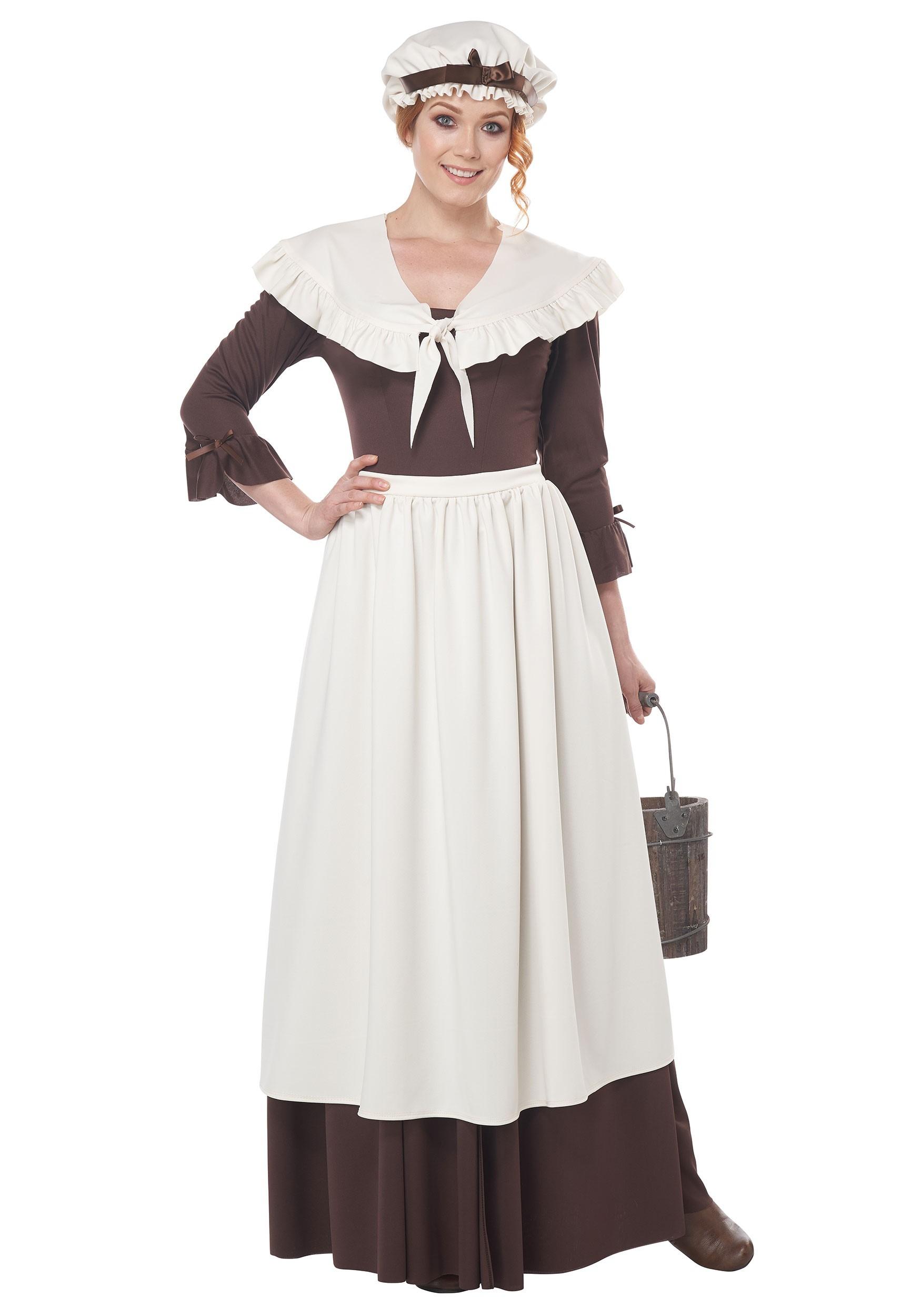 Women's Colonial Village Costume