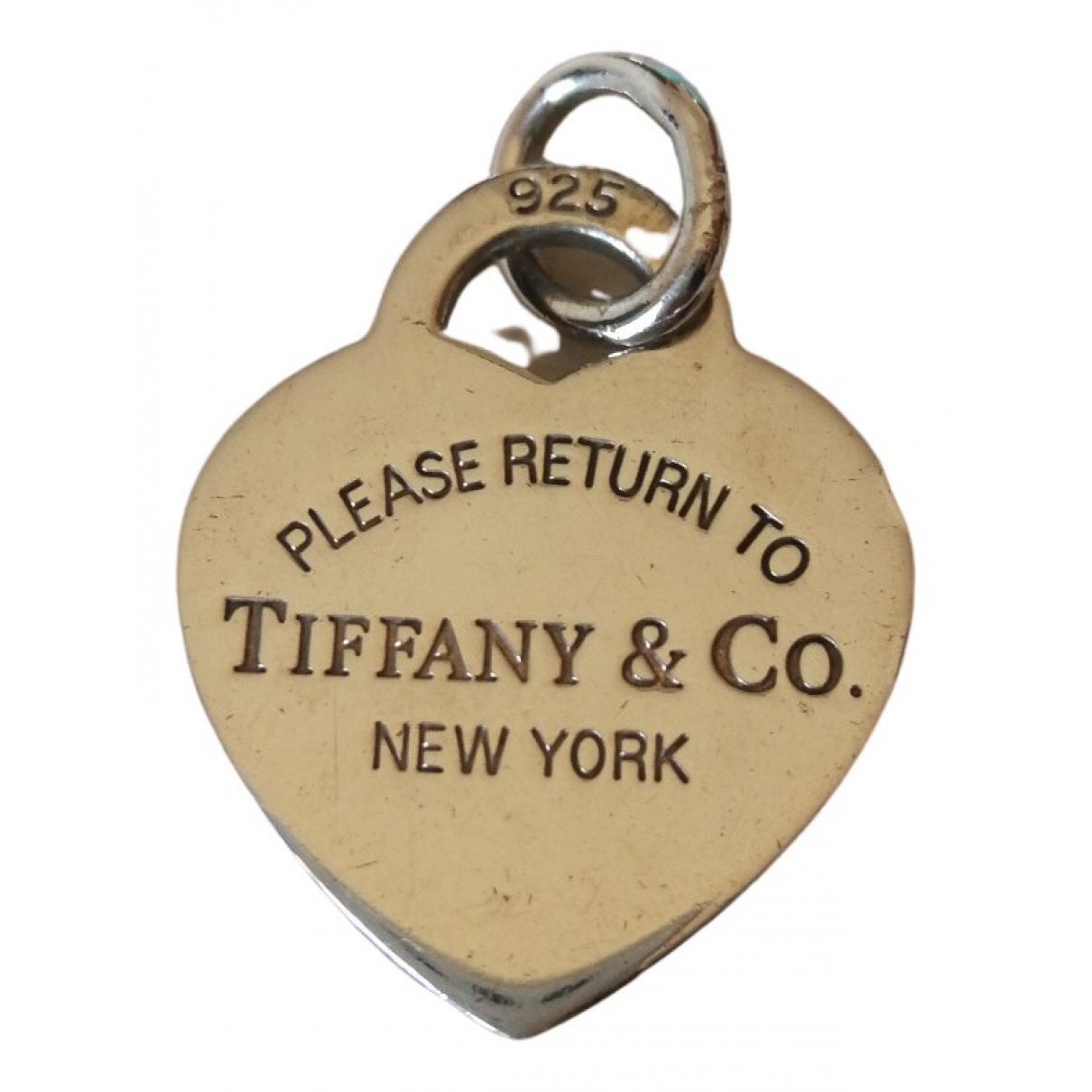 Tiffany & Co Return to Tiffany Anhaenger in  Silber Silber