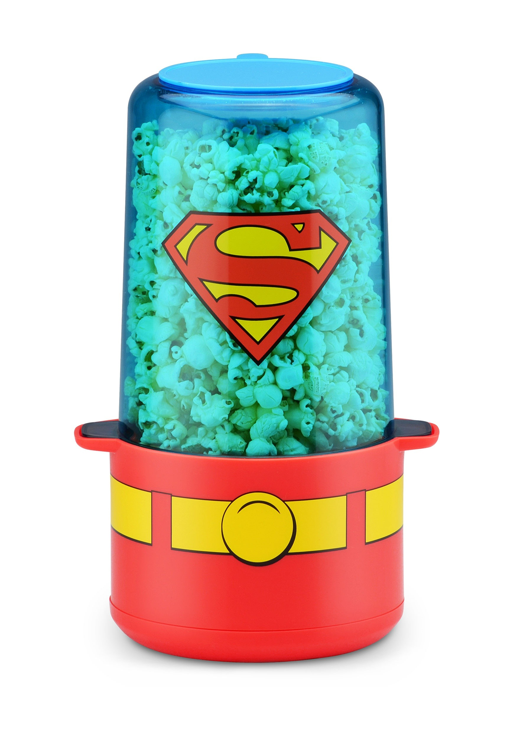 Mini Stir Superman Themed Popcorn Maker