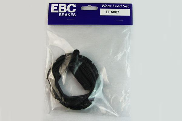 EBC Brakes EFA067 Wear Leads REAR Disc Brake Pad Wear Sensor FMSI D683 BMW M3 Rear 2001-2006