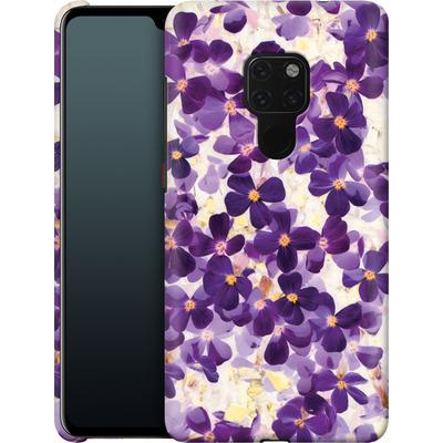 Huawei Mate 20 Smartphone Huelle - Violet Bloom von Amy Sia