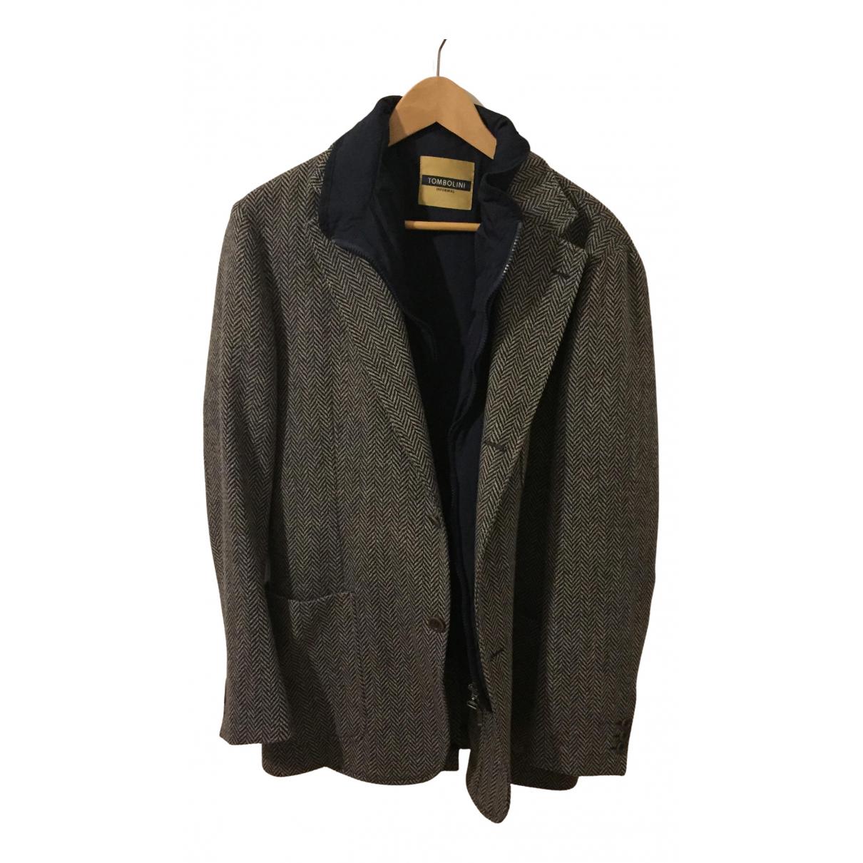 Tombolini - Vestes.Blousons   pour homme en laine - multicolore