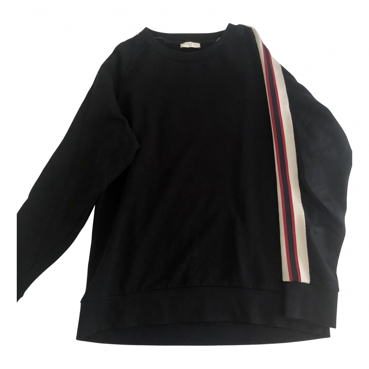 Sandro \N Pullover.Westen.Sweatshirts  in  Blau Baumwolle