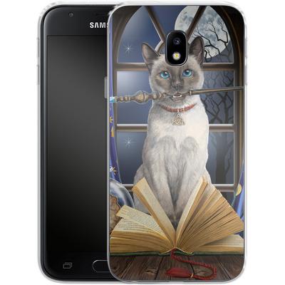 Samsung Galaxy J3 (2017) Silikon Handyhuelle - Hocus Pocus von Lisa Parker