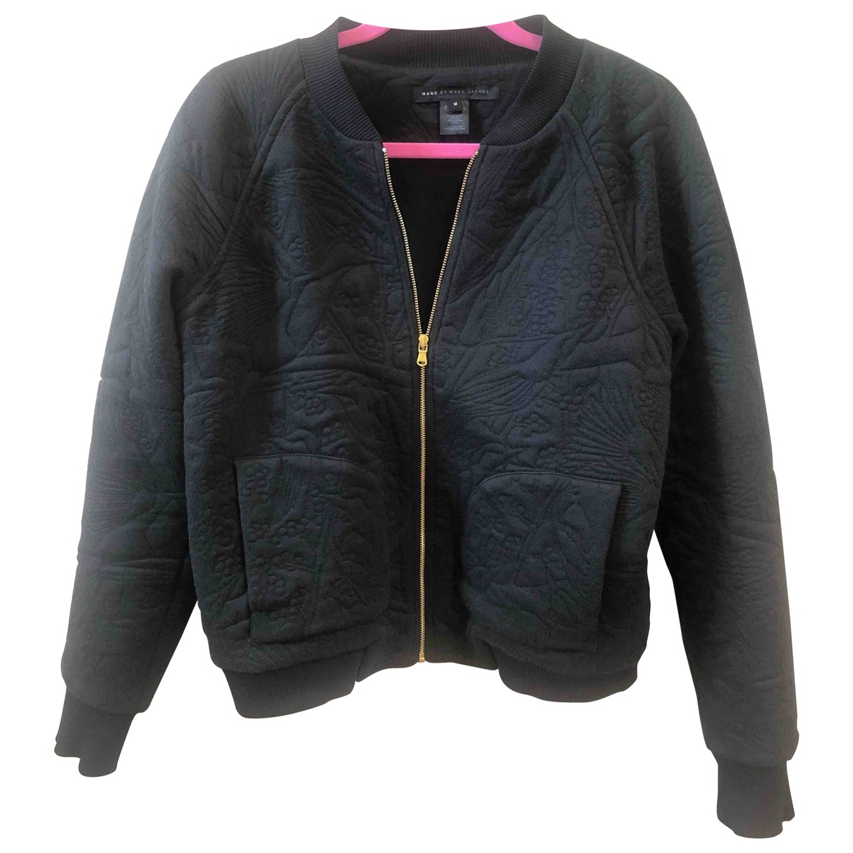 Marc By Marc Jacobs \N Black Cotton jacket for Women M International