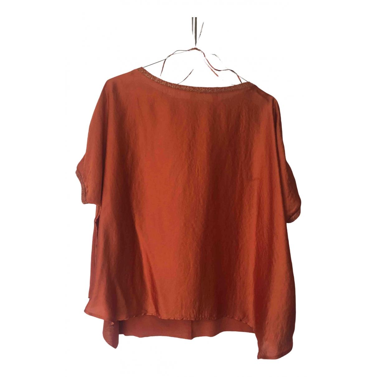 Zara - Top   pour femme - orange