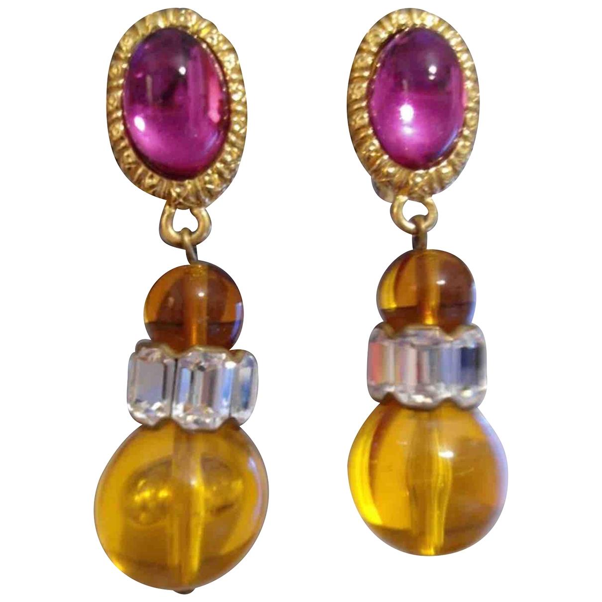 Dior - Boucles doreilles   pour femme - multicolore