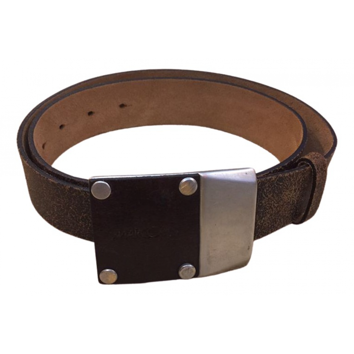 Marc Cain \N Brown Leather belt for Women 85 cm