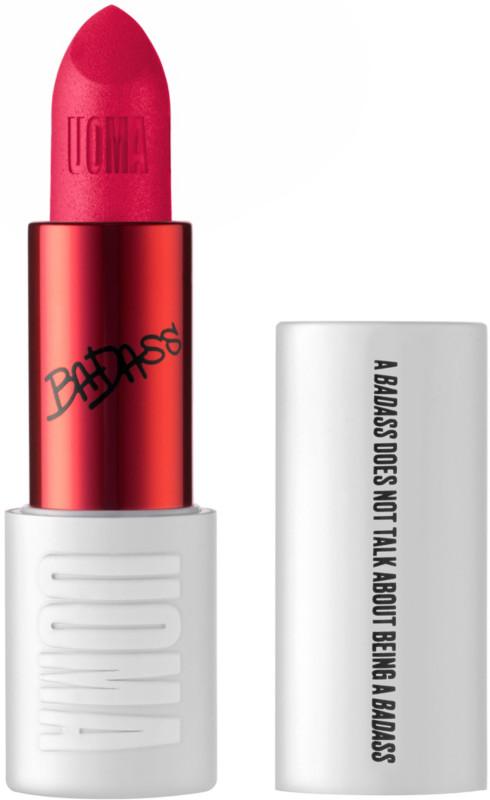 BADASS ICON Matte Lipstick - Whitney (hot coral pink)
