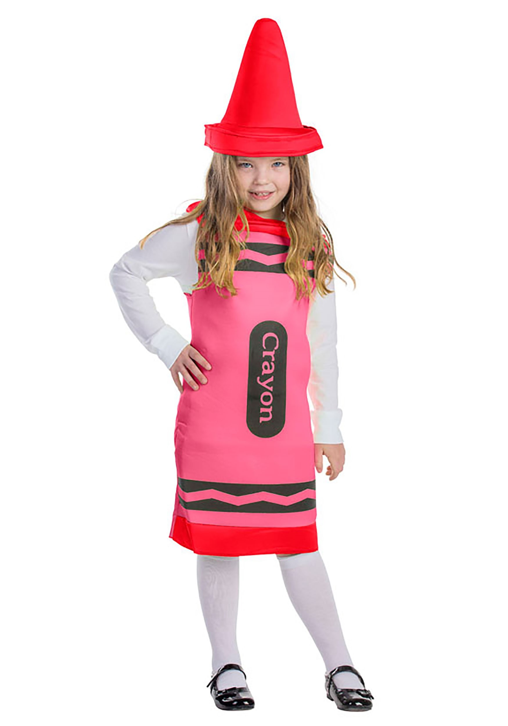 Red Crayon Costume for Toddlers