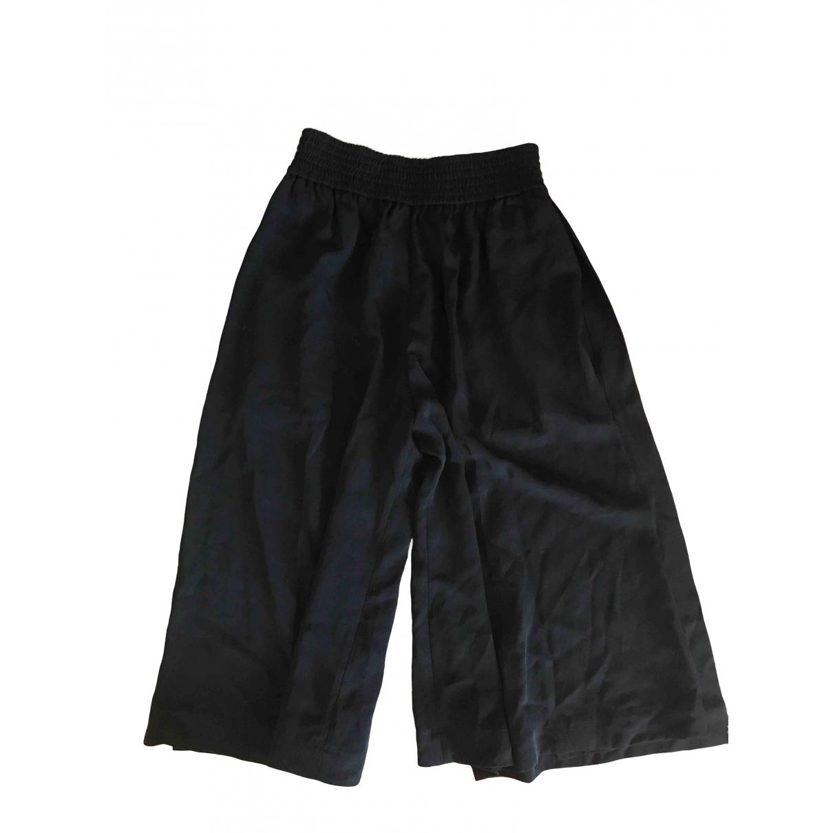 Acne Studios \N Black Trousers for Women 32 FR