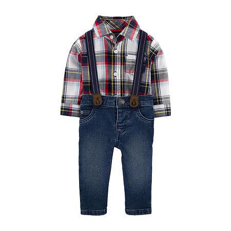 Carter's Baby Boys 2-pc. Bodysuit Set, 12 Months , Multiple Colors