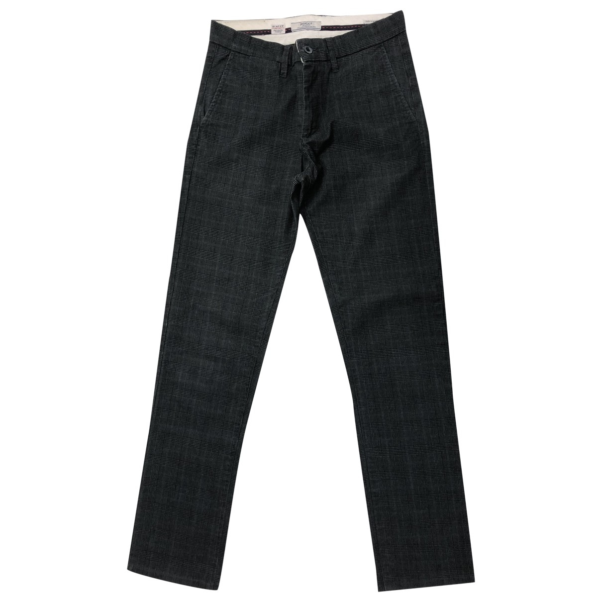 Boggi \N Black Cotton Trousers for Men 30 UK - US