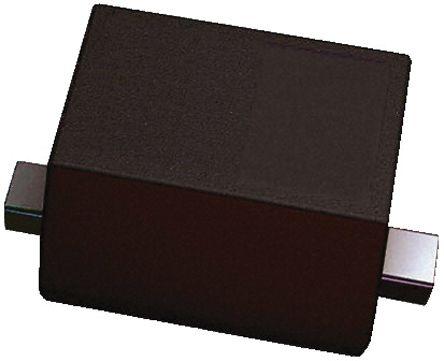 DiodesZetex Diodes Inc, 6.8V Zener Diode ±2% 350 mW SMT 2-Pin SOD-523 (100)
