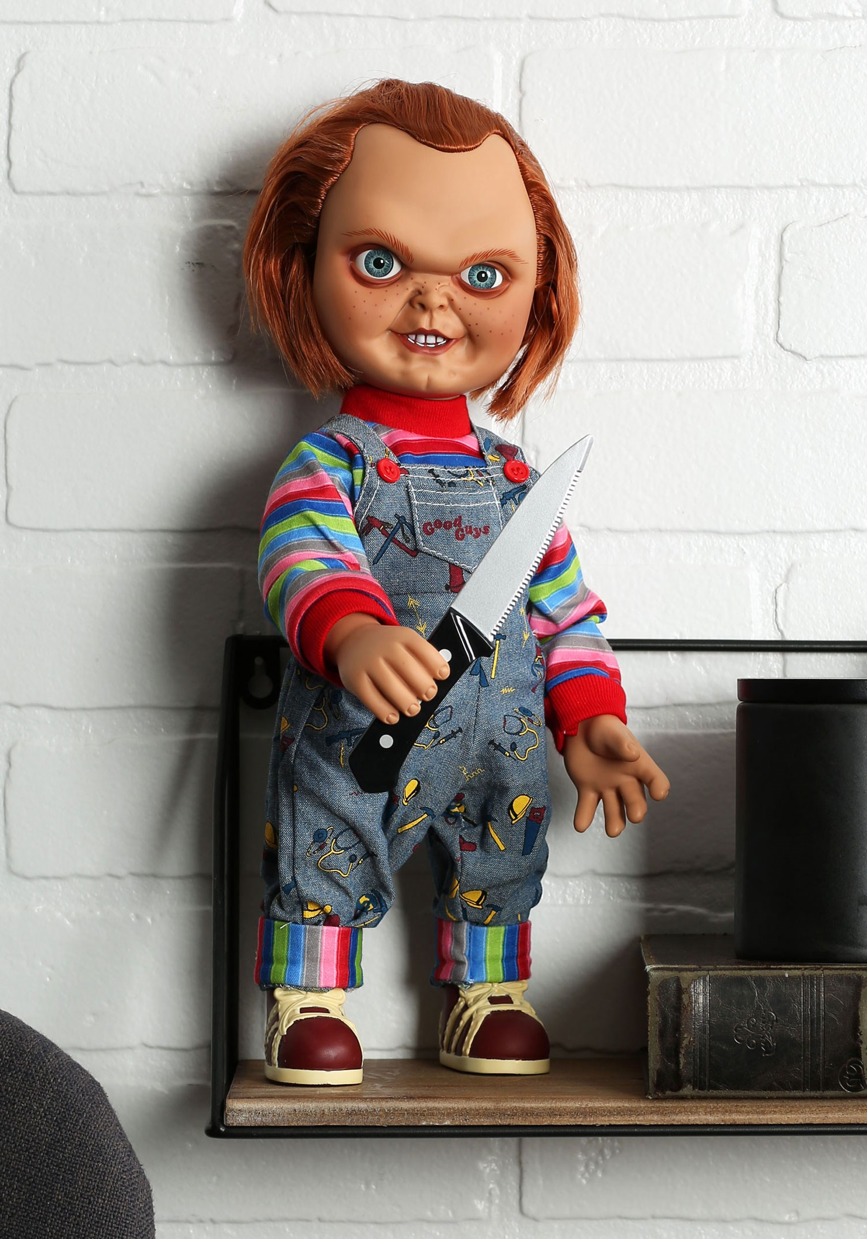 Child's Play Good Guy Sneering Talking Chucky Doll