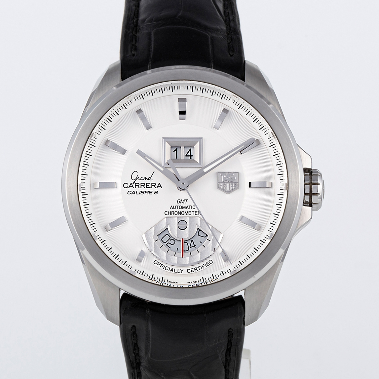 Tag Heuer Carrera Uhr in  Weiss Stahl